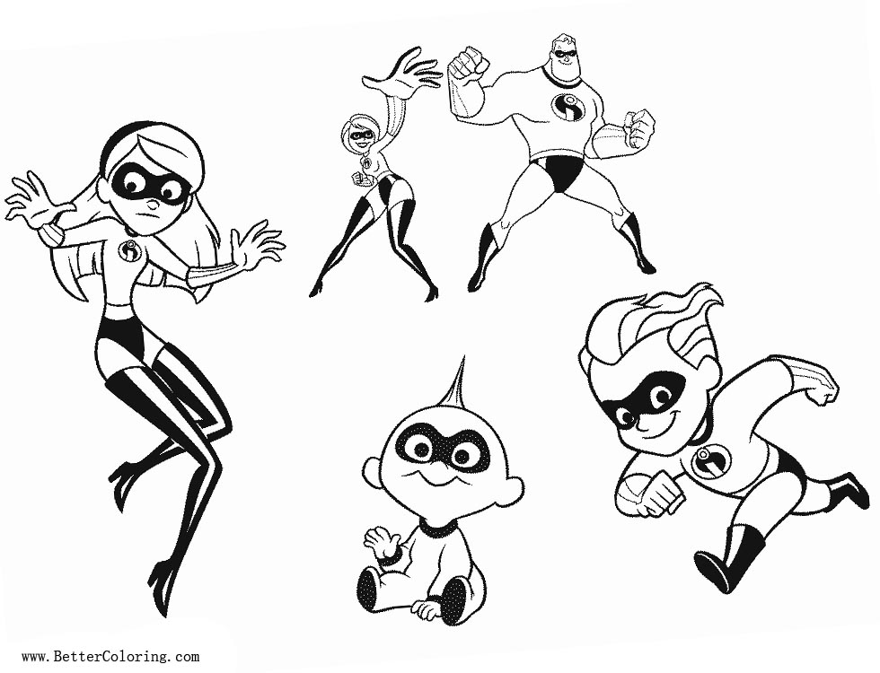 free printable incredibles 2 coloring pages incredibles 2 coloring pages download and print for free coloring printable 2 pages free incredibles
