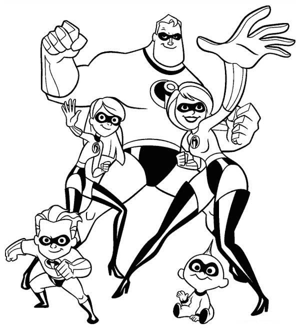 free printable incredibles 2 coloring pages incredibles 2 coloring pages getcoloringpagescom pages 2 incredibles printable coloring free