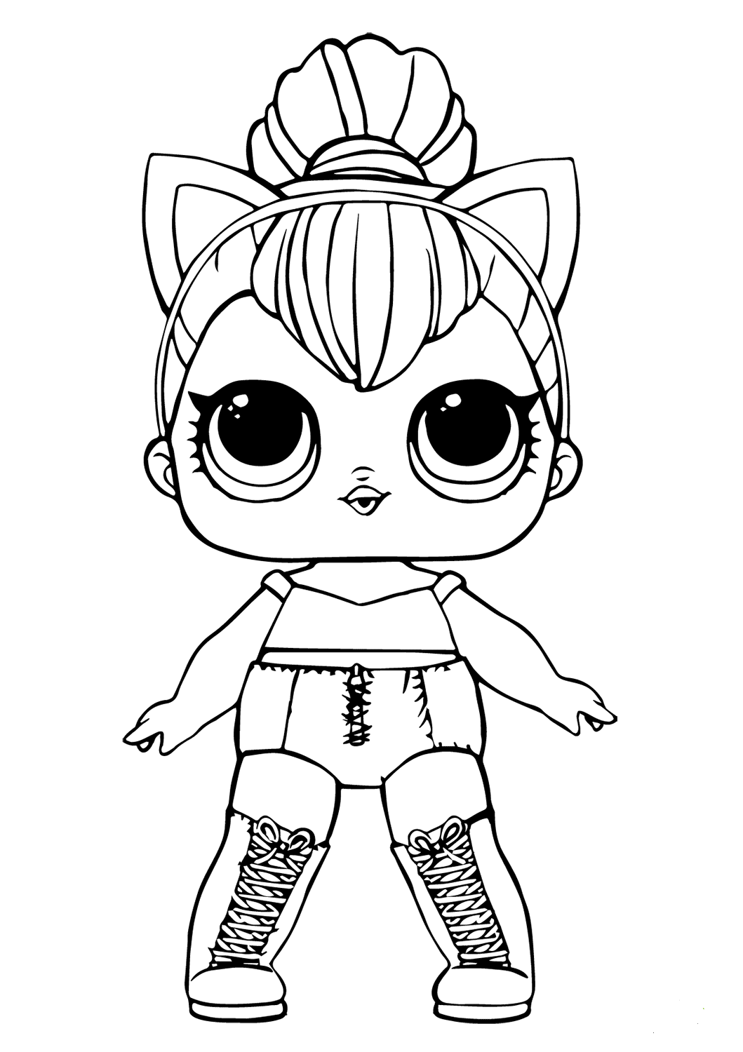 free printable lol coloring pages 20 free printable lol surprise pets coloring pages lol printable coloring free pages