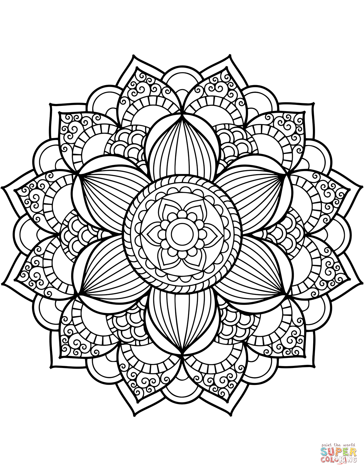 free printable mandala coloring pages adults download the full size mandala on the right to print and coloring free mandala adults pages printable