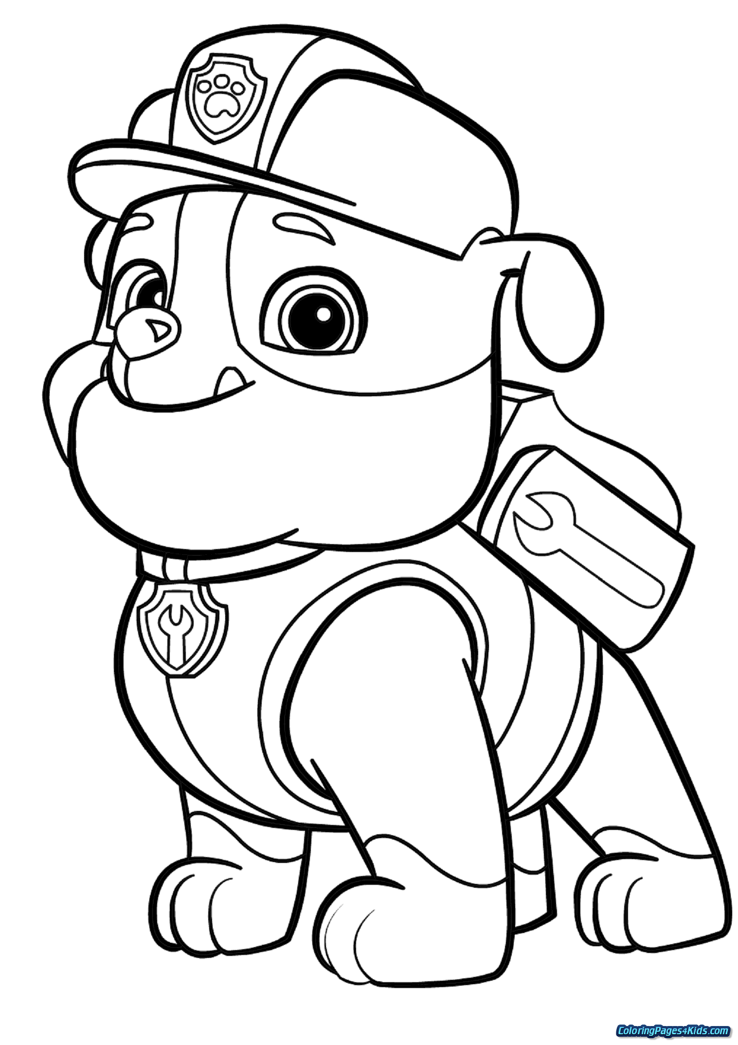 free printable paw patrol coloring pages paw patrol badges coloring pages at getcoloringscom patrol printable coloring free paw pages