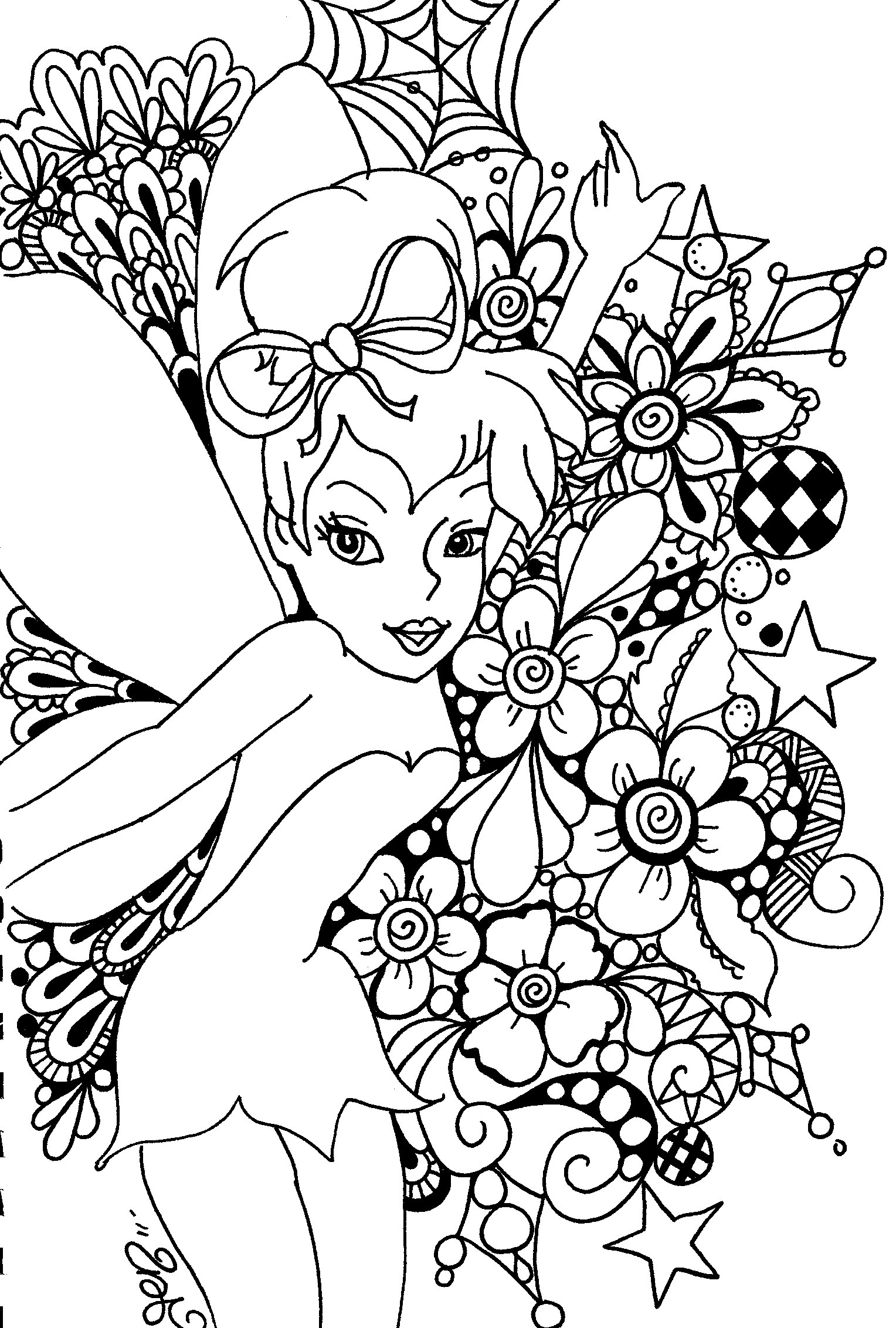 free printable tinkerbell coloring pages tinkerbell coloring pages team colors printable coloring pages tinkerbell free