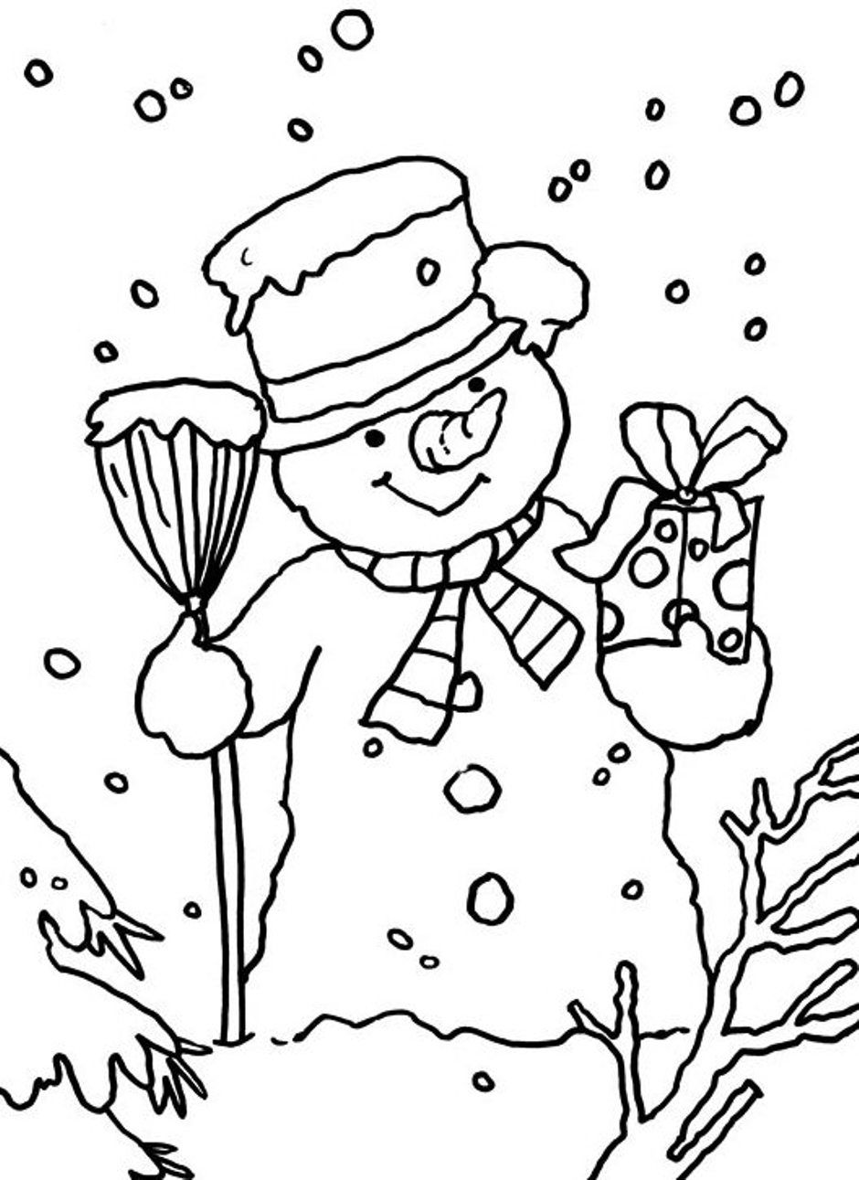 free printable winter scenes snow scene coloring page lessons worksheets and activities winter scenes printable free