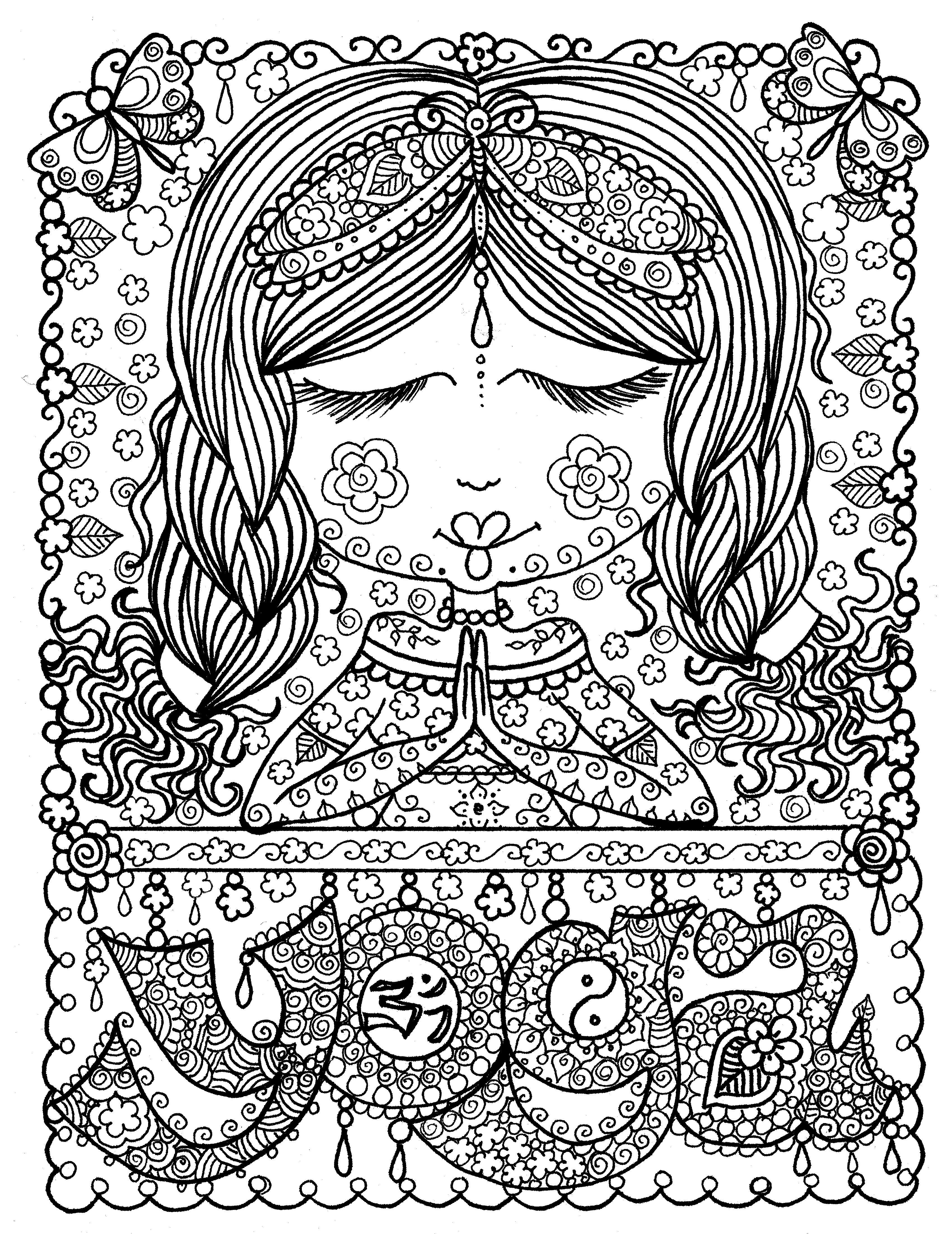 free printable yoga coloring pages 17 best images about yoga printables on pinterest cue free printable coloring yoga pages