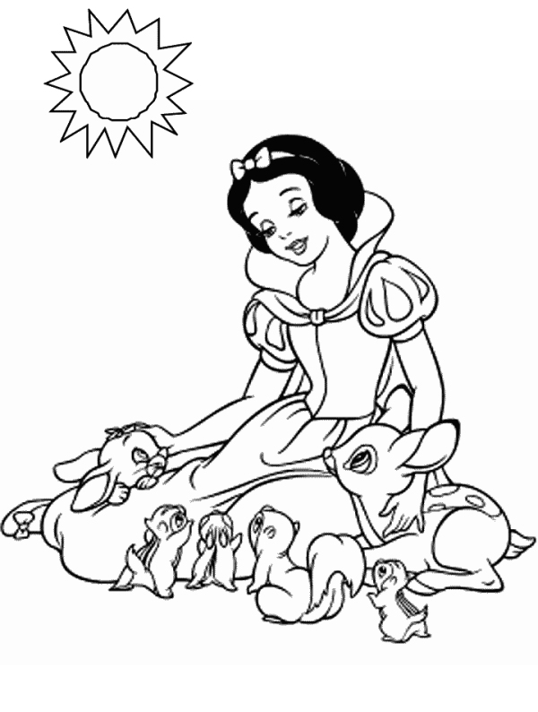 free snow white coloring pages 20 best images about snow white clock on pinterest pages coloring snow white free