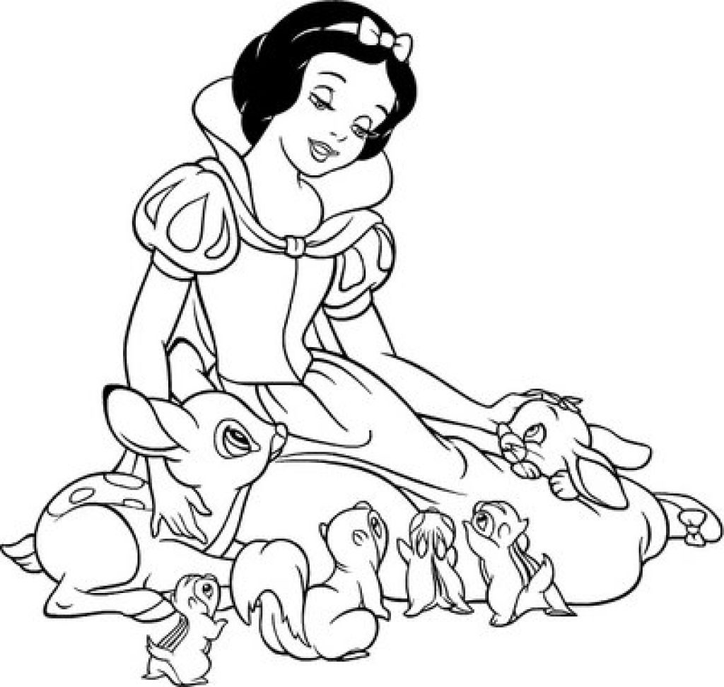 free snow white coloring pages free printable snow white princess coloring pages pages white snow free coloring