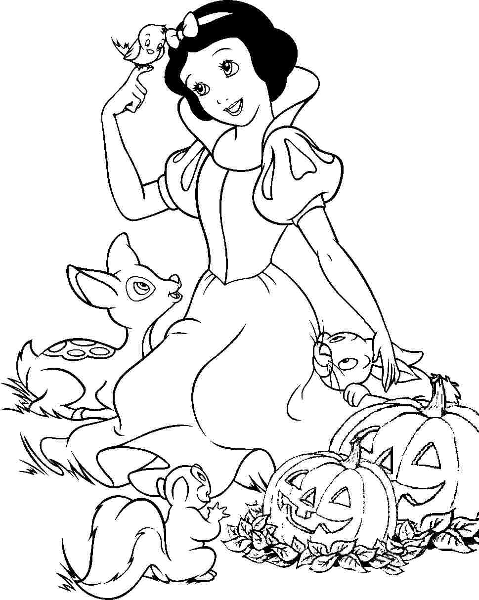 free snow white coloring pages snow white cartoon drawing at getdrawings free download pages snow coloring free white