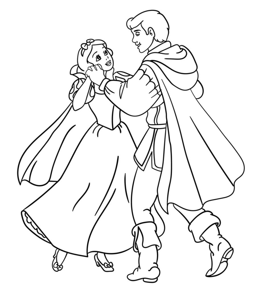 free snow white coloring pages snow white cartoon drawing at getdrawings free download white snow pages coloring free