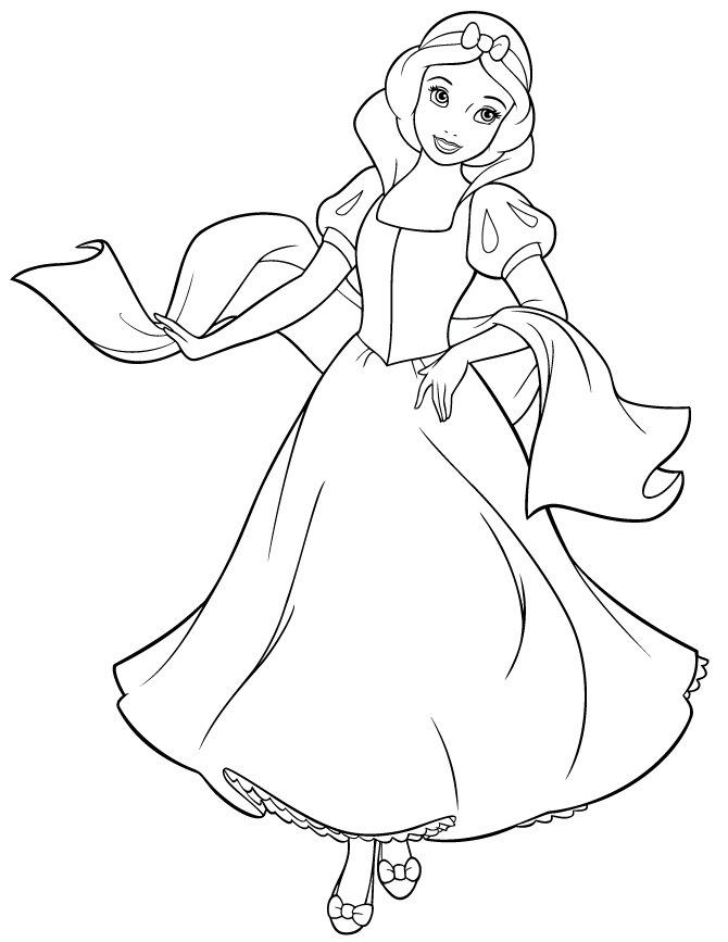 free snow white coloring pages snow white coloring pages to download and print for free white snow pages free coloring