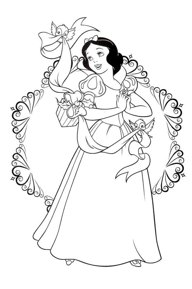 free snow white coloring pages snow white drawing at getdrawings free download white free snow coloring pages