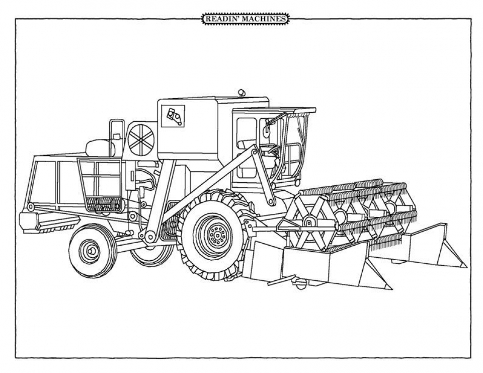 free tractor coloring pages tractor coloring pages to download and print for free coloring tractor pages free