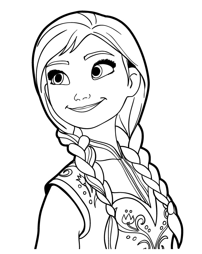 frozen coloring pages anna anna coloring pages anna coloring page wecoloringpage pages anna coloring frozen