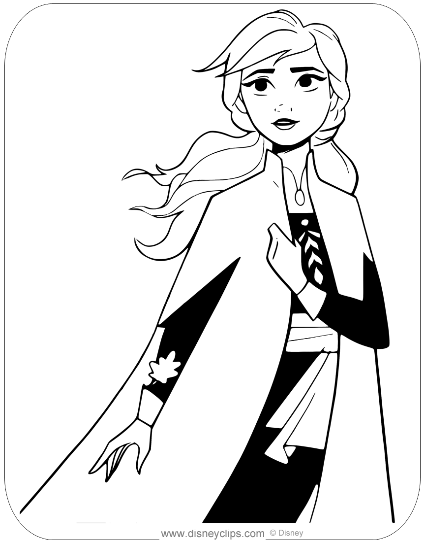 frozen coloring pages anna anna from frozen 2 coloring pages cristina picteazacom coloring pages frozen anna