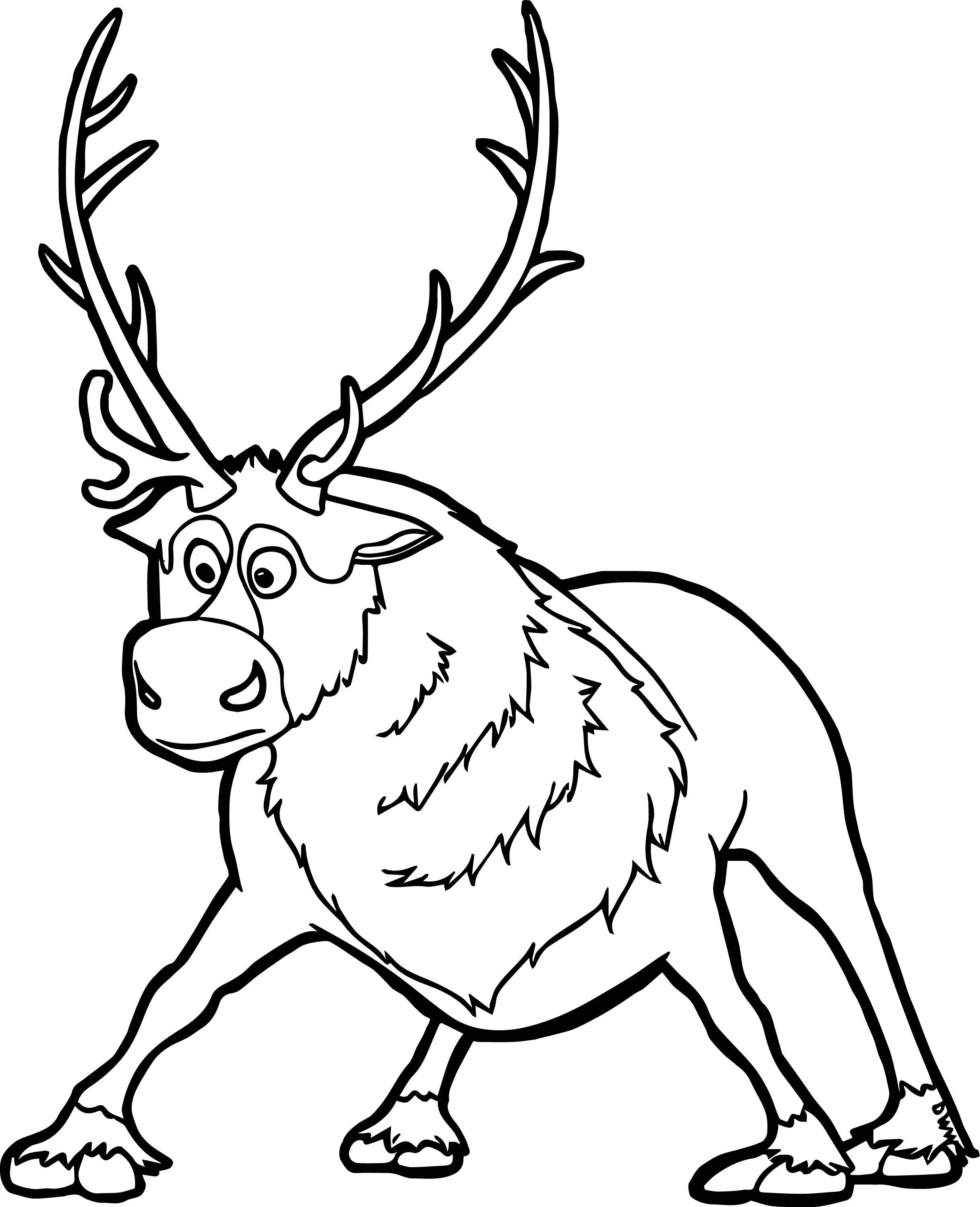frozen coloring pages sven drawing from frozen coloring pages sven frozen sven coloring pages frozen