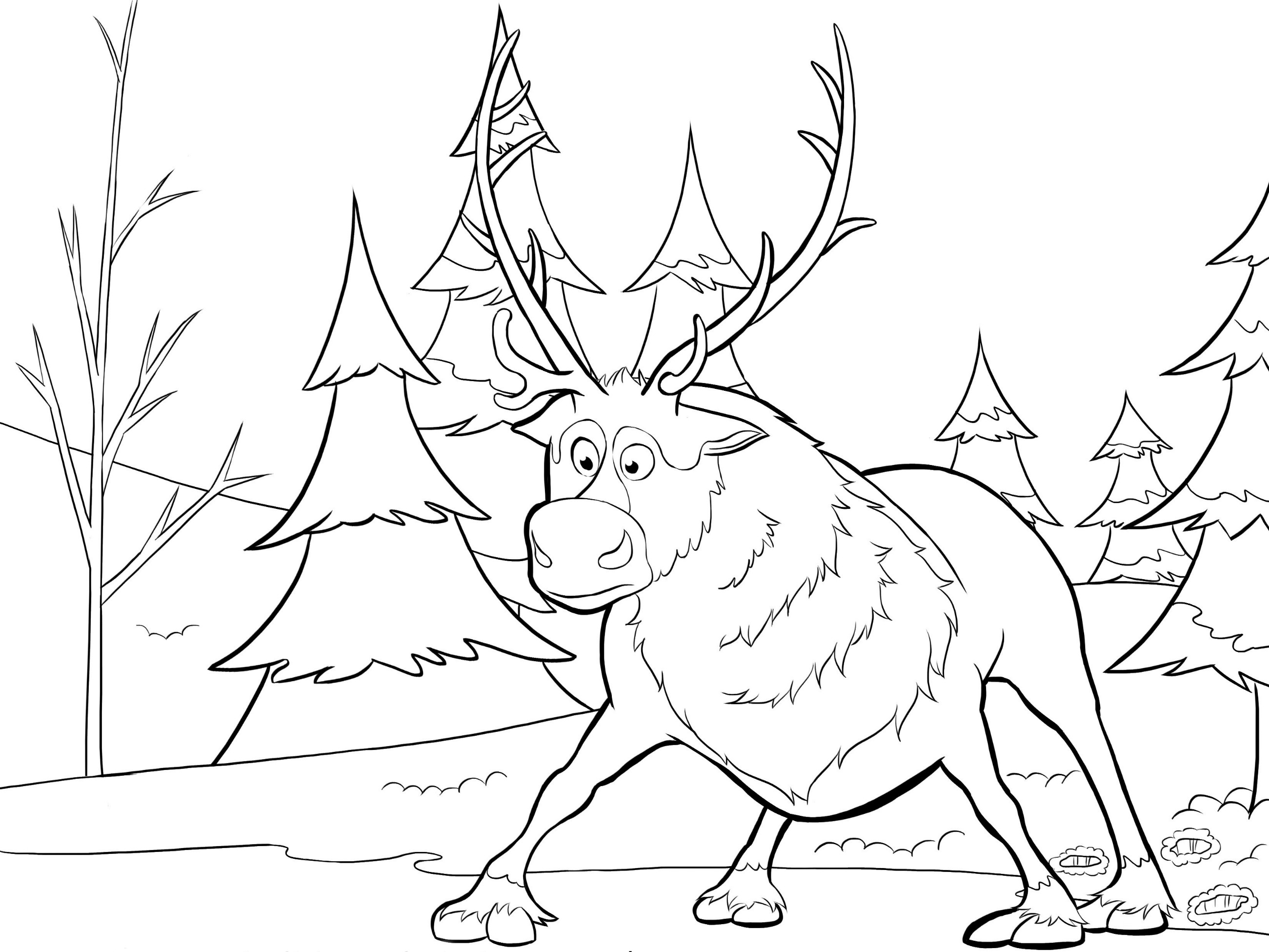 frozen coloring pages sven sven pages coloring pages frozen pages sven coloring