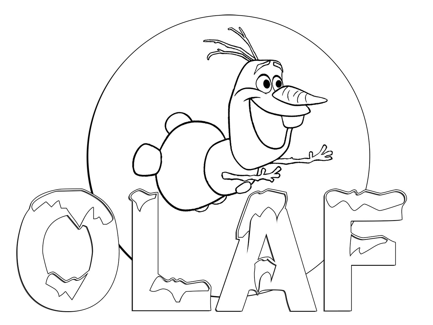 frozen olaf coloring pages 1000 images about neat stuff n drawings on pinterest frozen pages coloring olaf