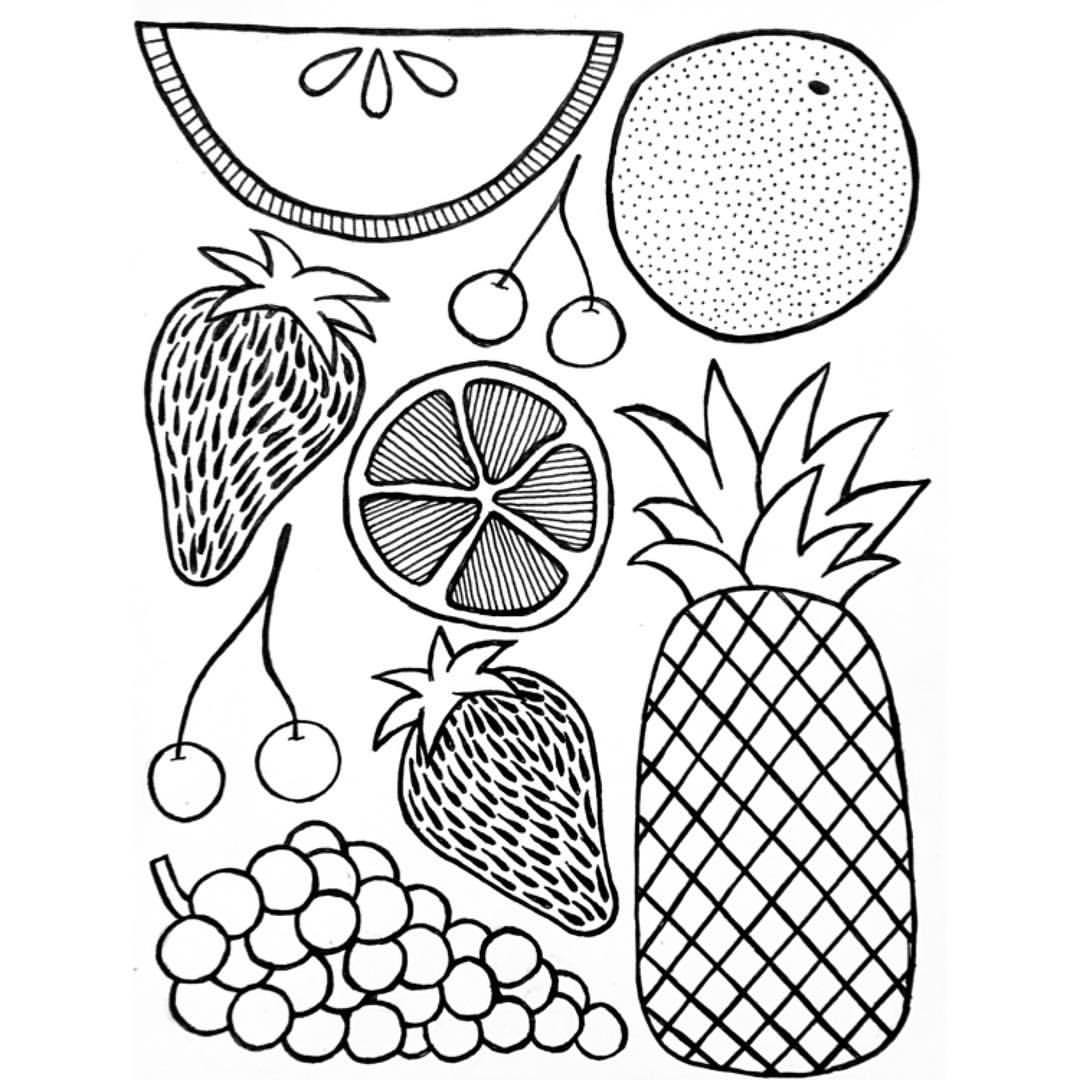 fruit drawing pen drawing of fruit drawing by drawing fruit