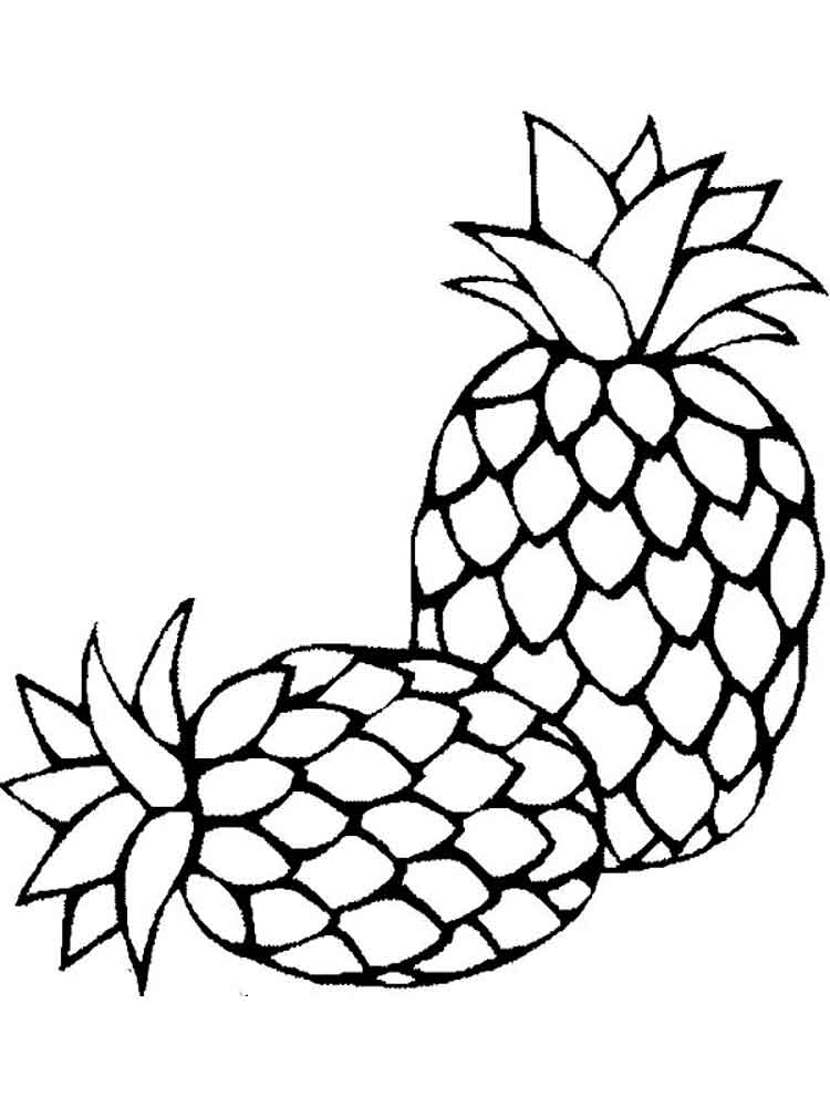 fruits images for coloring art projects for kids esl fruit bowl for coloring fruits images