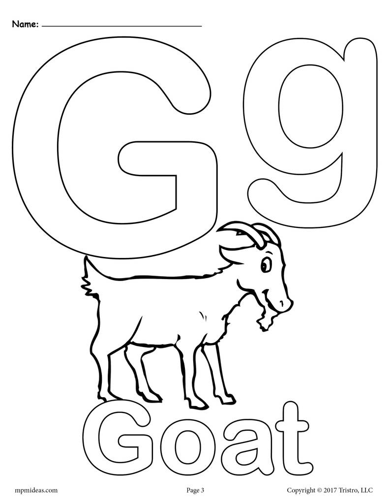 g coloring pictures letter g alphabet coloring pages 3 free printable pictures coloring g