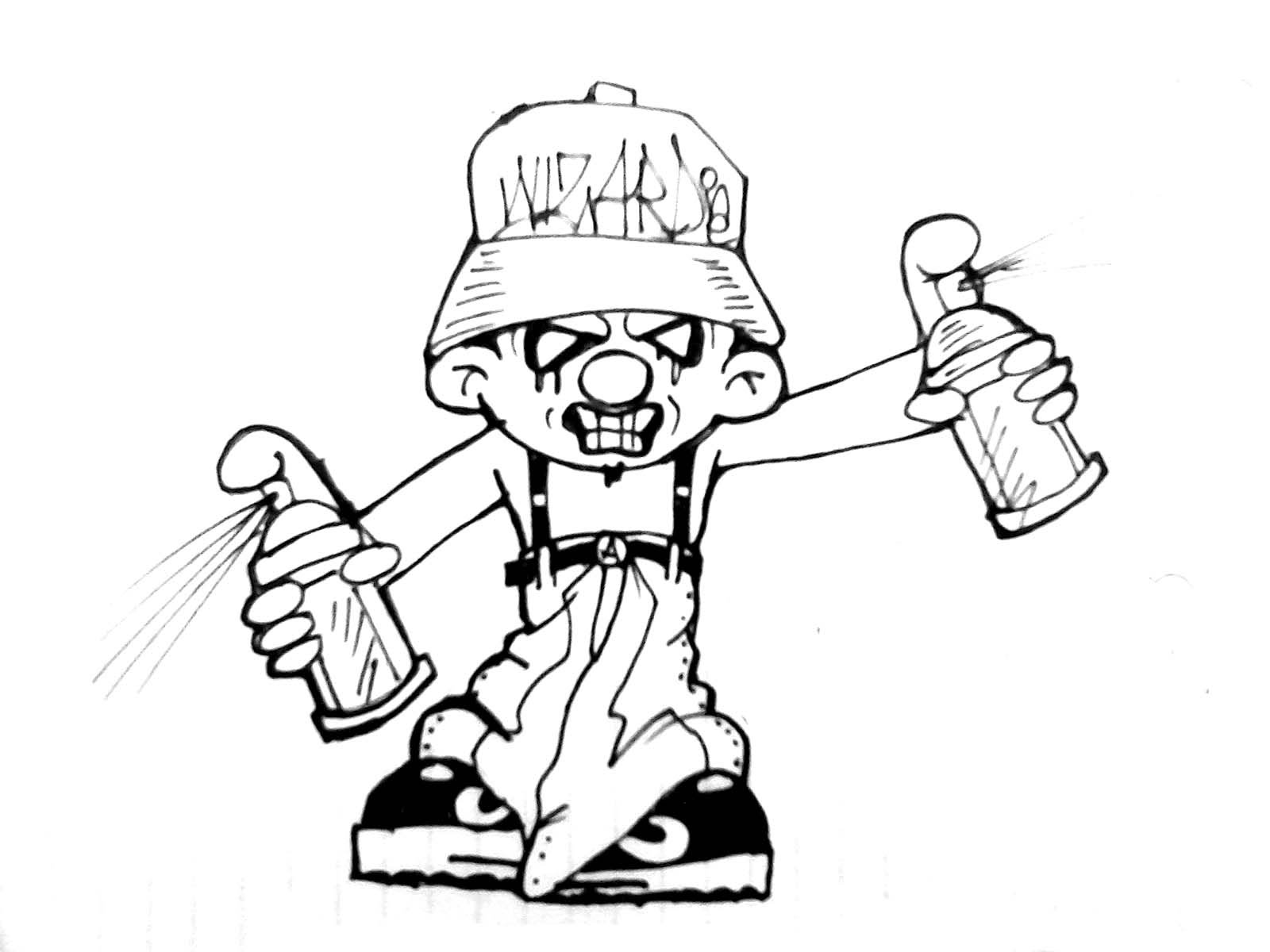 gangster scary clown coloring pages gangster drawing at getdrawings free download clown scary coloring pages gangster