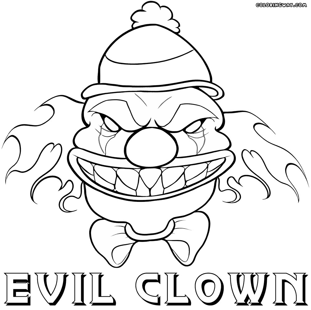 gangster scary clown coloring pages mgangster drawings clowns coloring coloring pages coloring clown gangster pages scary