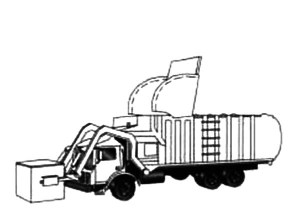 garbage truck drawing how to draw a garbage truck clipartsco truck drawing garbage 1 1