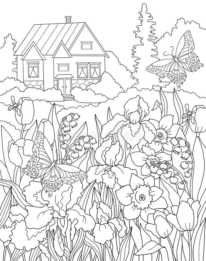 garden colouring pages gardening coloring pages to download and print for free colouring garden pages