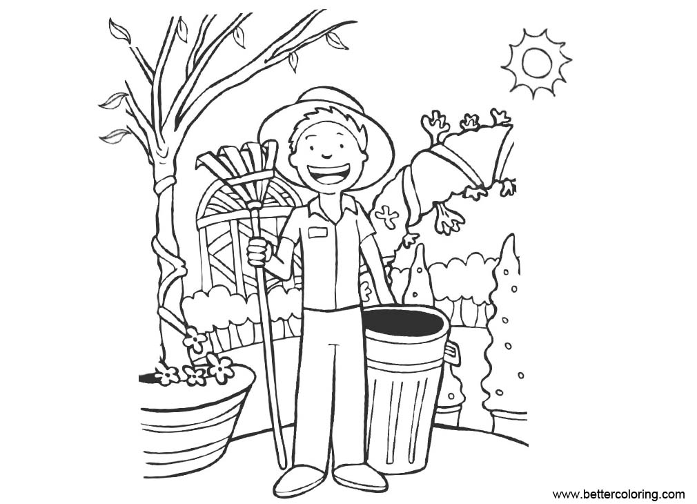 gardening pictures to colour flower garden coloring pages to download and print for free gardening pictures colour to