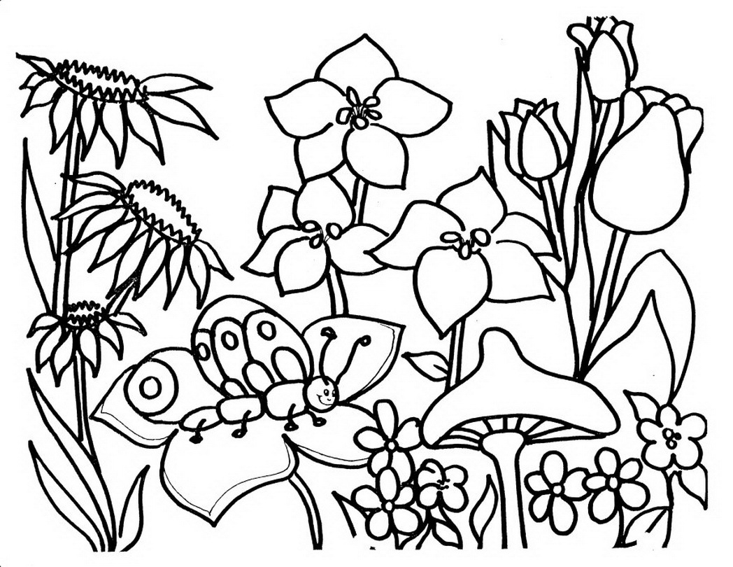 gardening pictures to colour garden coloring pages for preschool at getdrawings free gardening pictures to colour 1 1