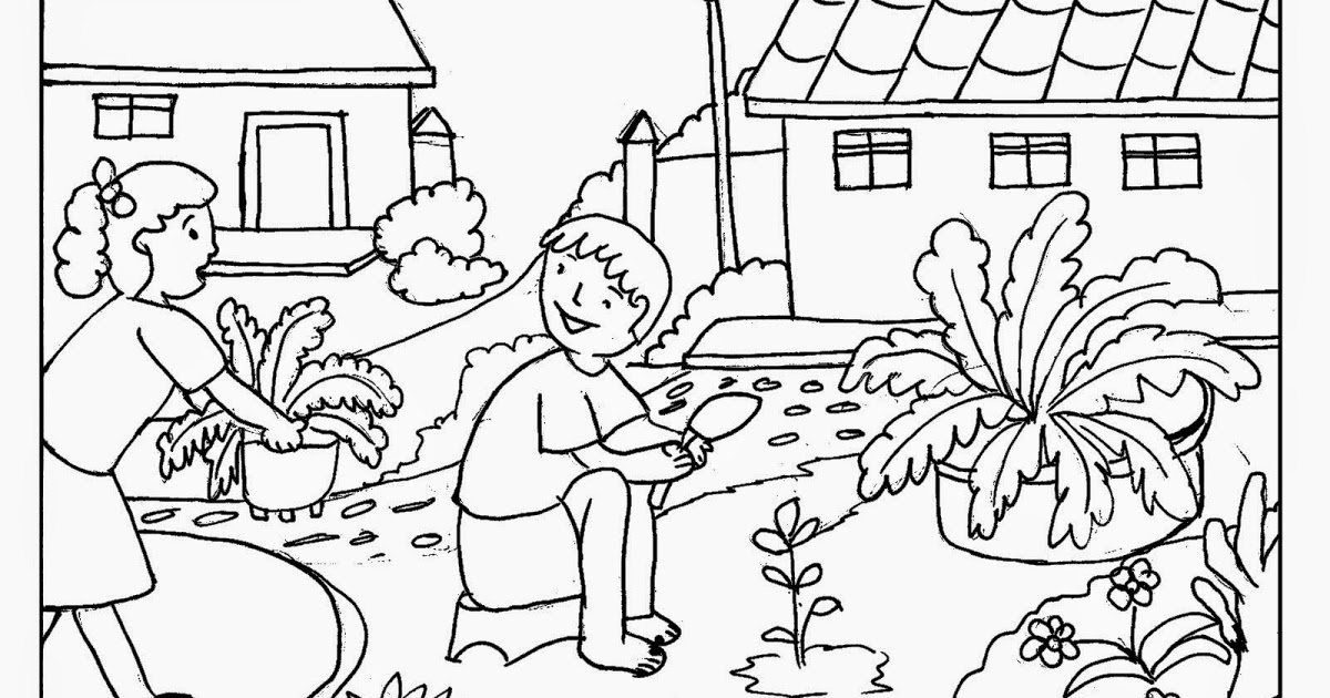 gardening pictures to colour gardening coloring pages best coloring pages for kids pictures gardening to colour