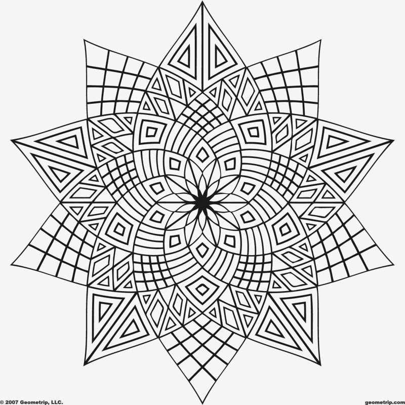 geometric color coloring pages geometric free printable coloring pages color geometric