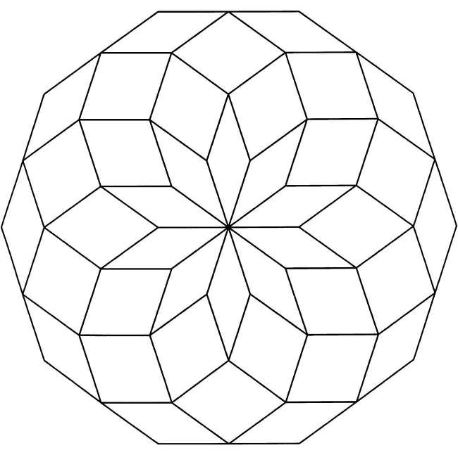 geometric color free printable geometric coloring pages for adults color geometric