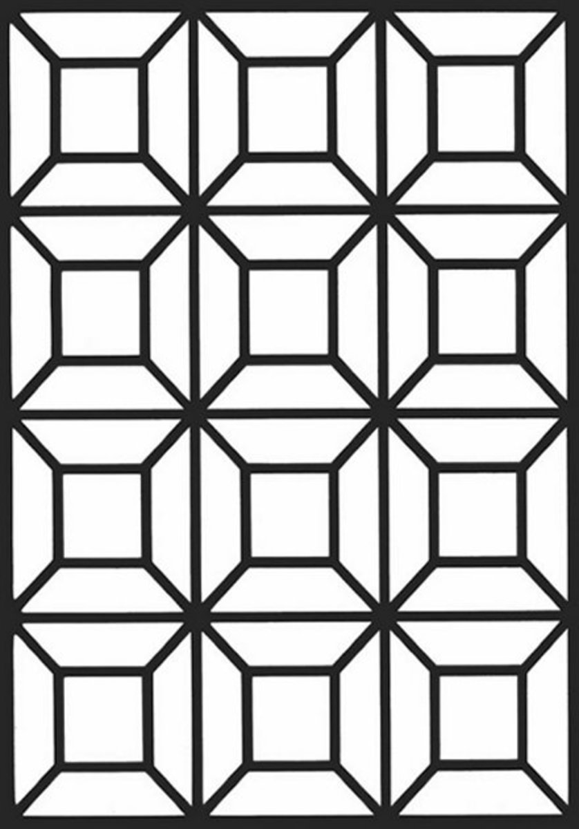 geometric color geometric design colouring pictures stained glass geometric color 1 1