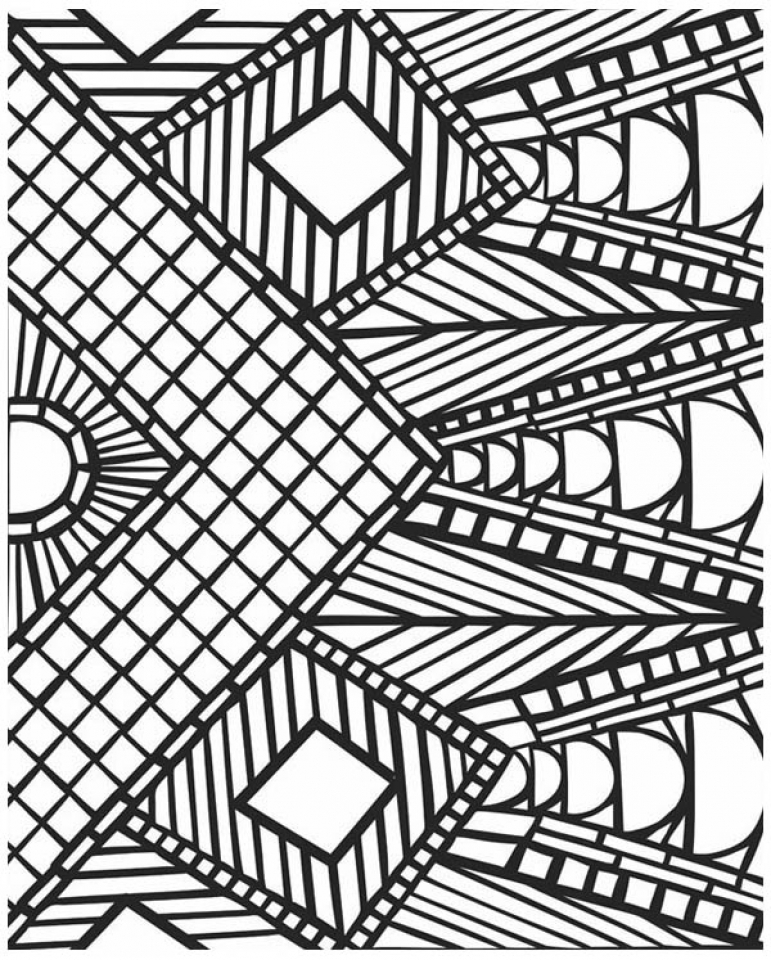 geometric pictures to color coloring pages quilt squares clip art library color to pictures geometric