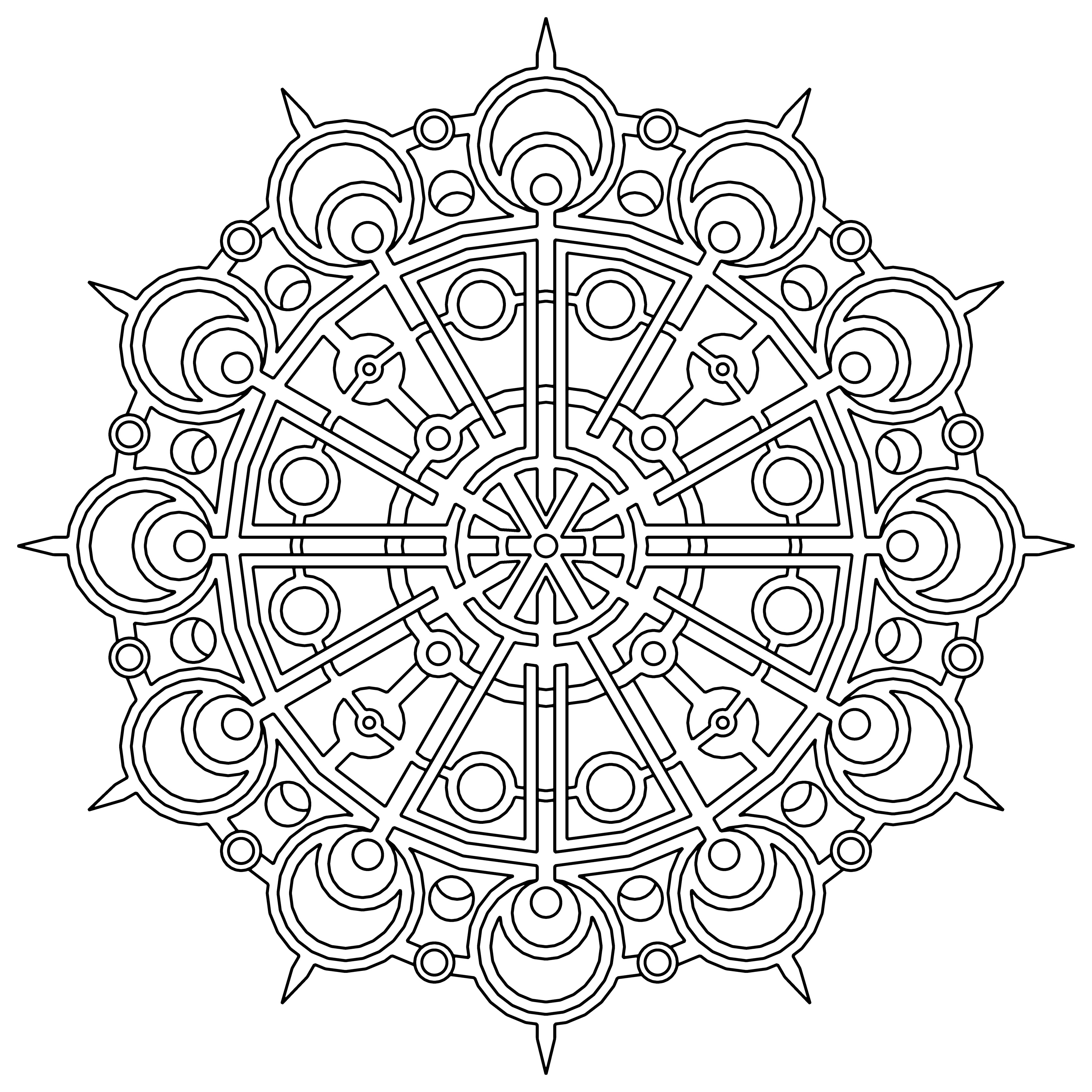 geometric pictures to color free printable geometric coloring pages for adults pictures to geometric color