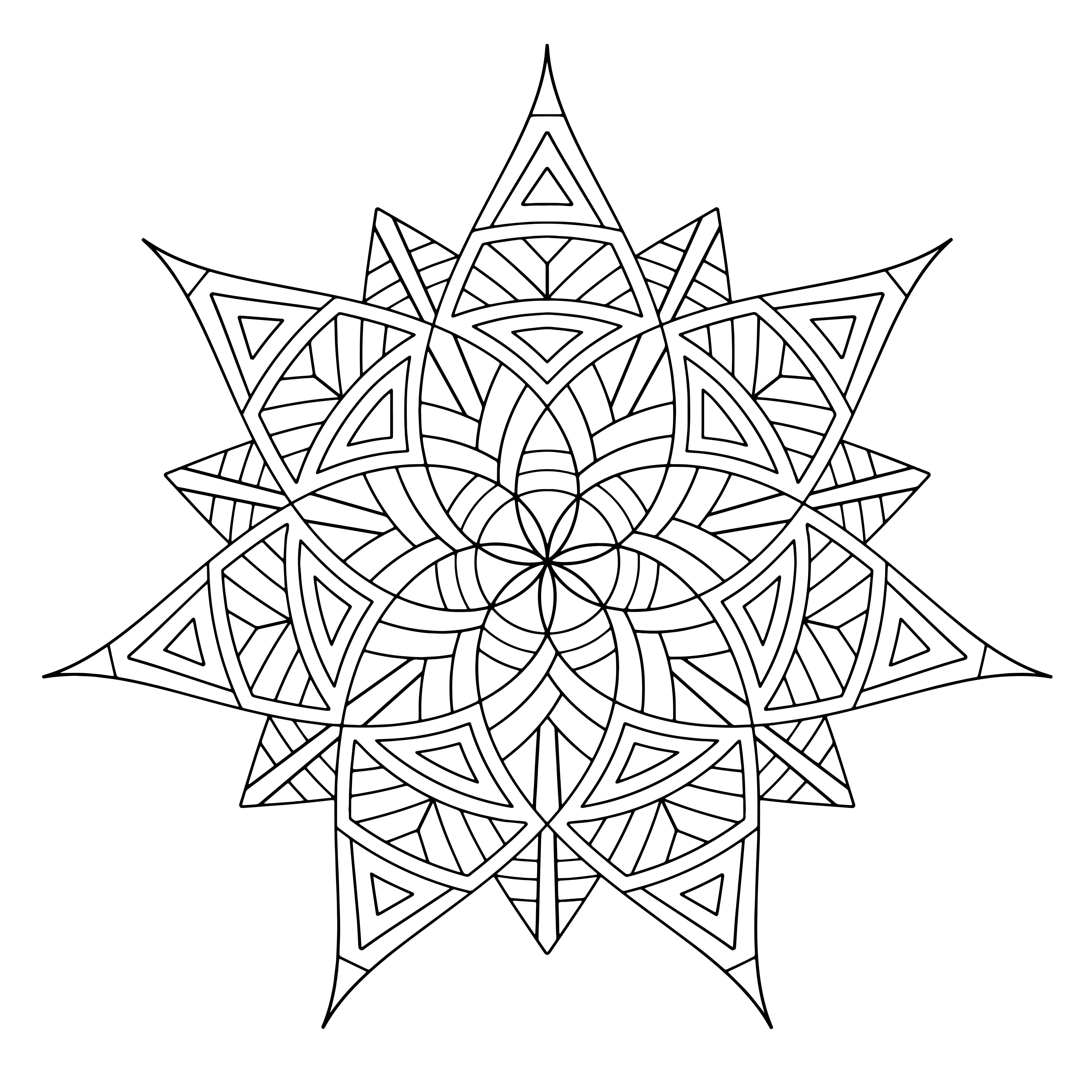 geometric pictures to color free printable geometric coloring pages for kids color geometric pictures to