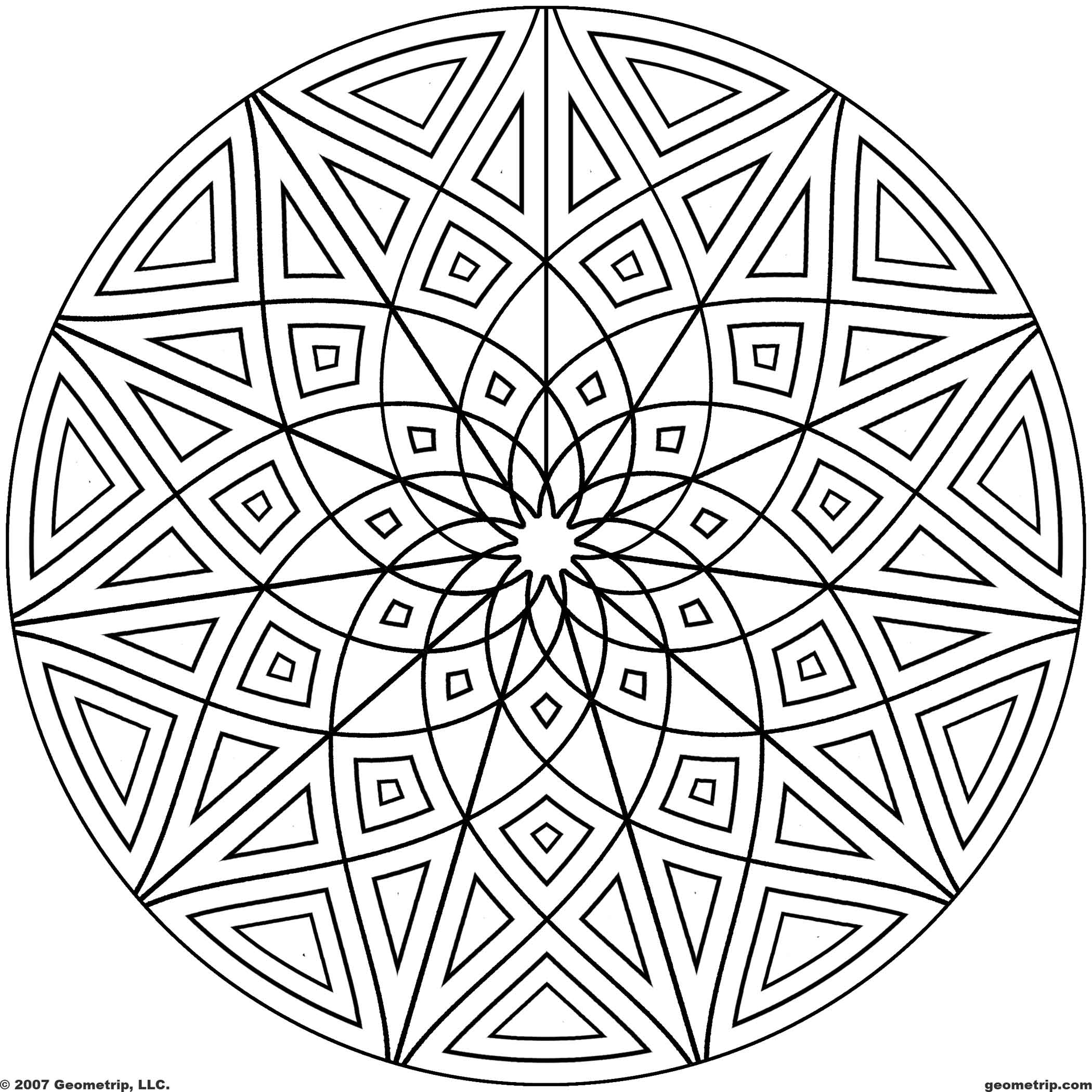 geometric pictures to color get this printable geometric coloring pages for adults pictures color geometric to