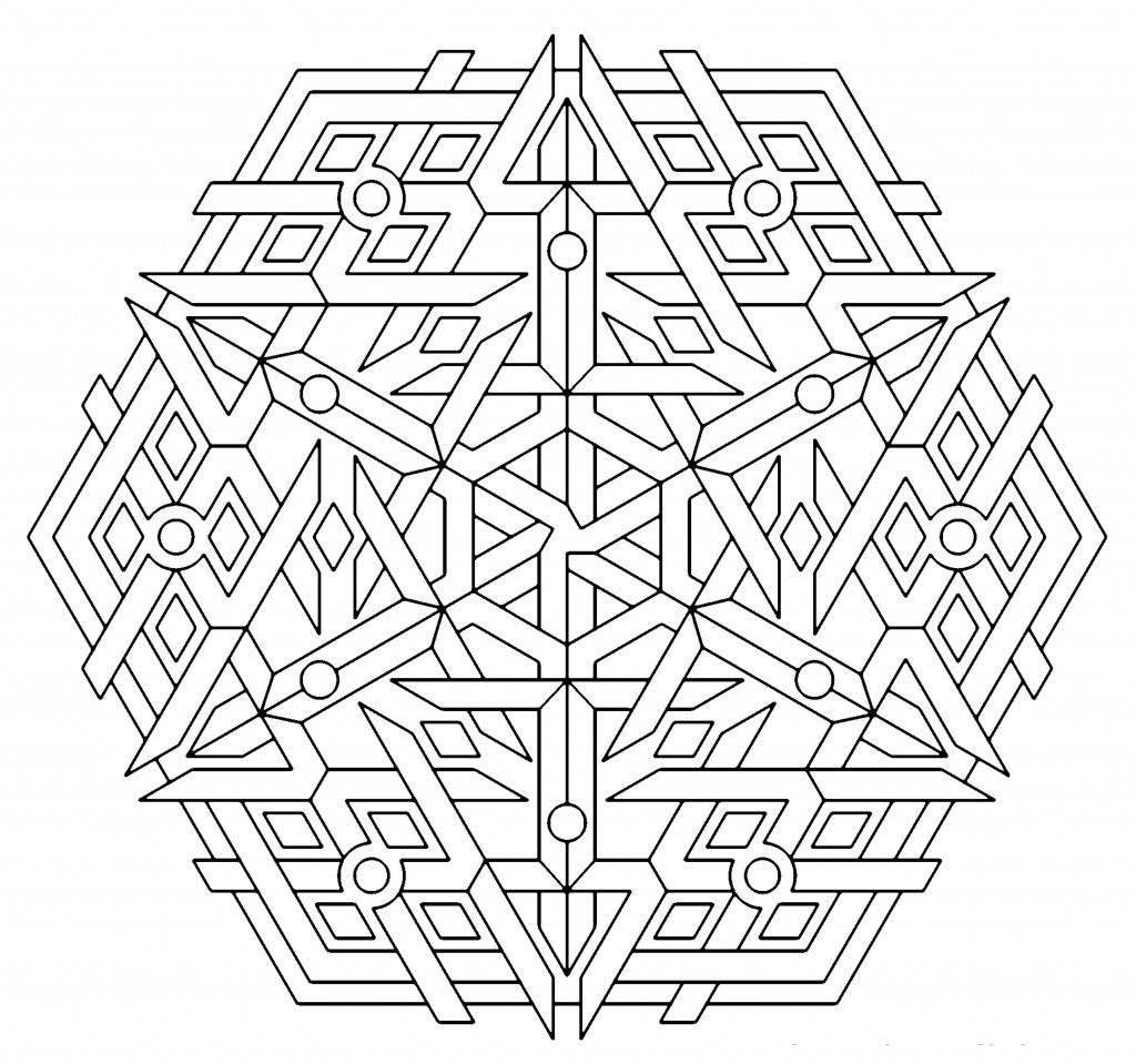 geometric pictures to color kaleidoscope coloring pages geometric only coloring pages pictures geometric to color