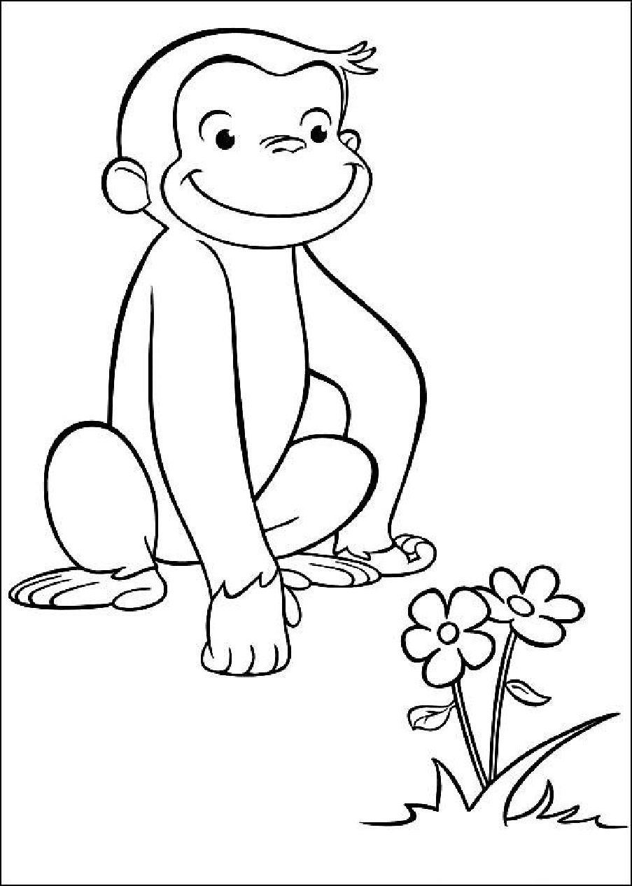 george the monkey coloring pages 27 curious george coloring book in 2020 curious george george coloring monkey the pages