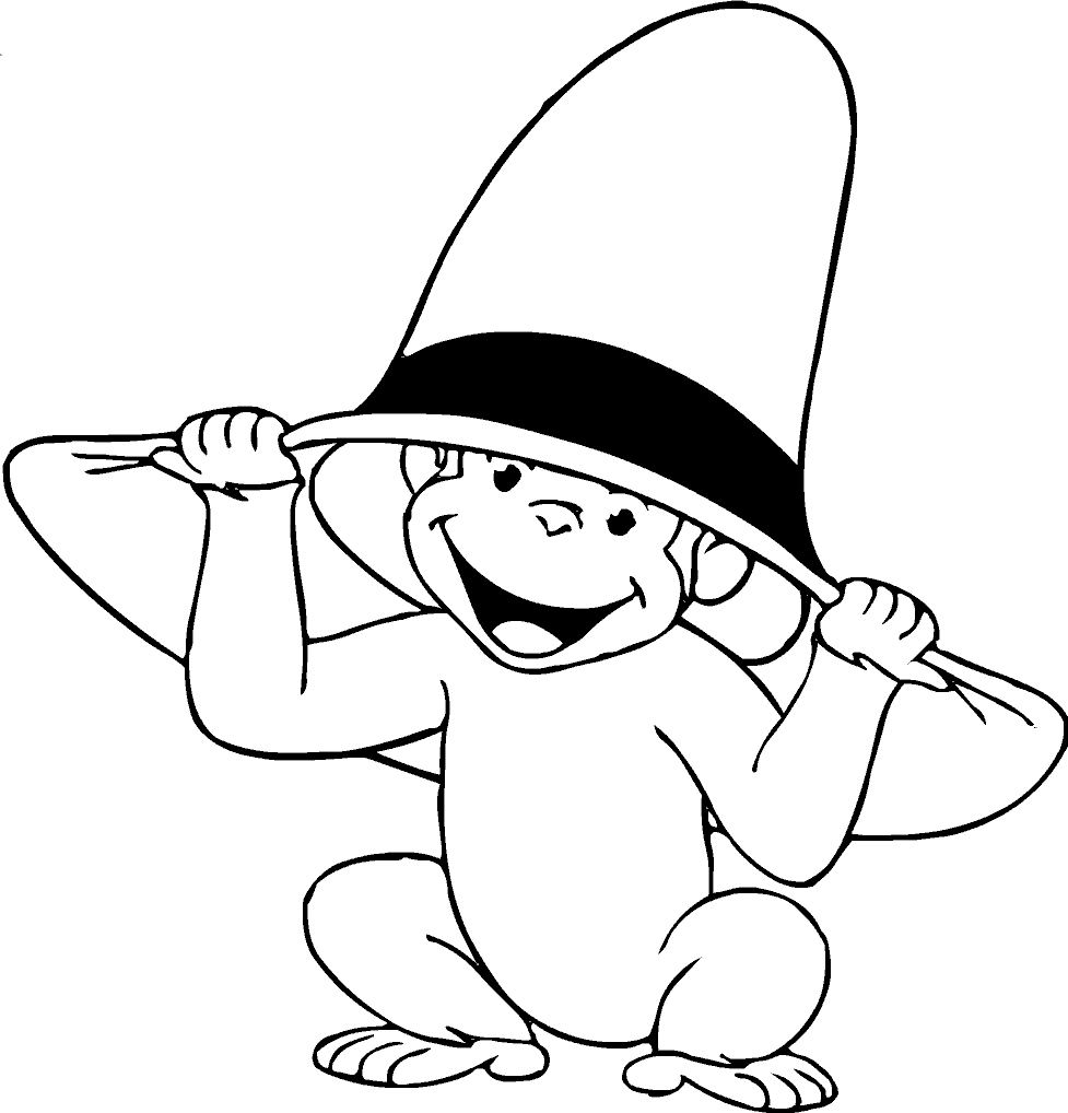 george the monkey coloring pages 28 curious george coloring page in 2020 curious george monkey pages coloring the george