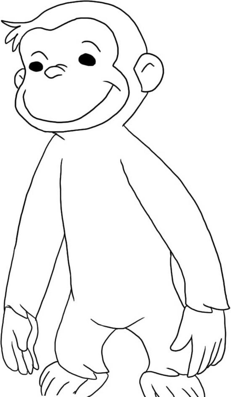 george the monkey coloring pages curious george coloring pages curious george coloring coloring pages the monkey george