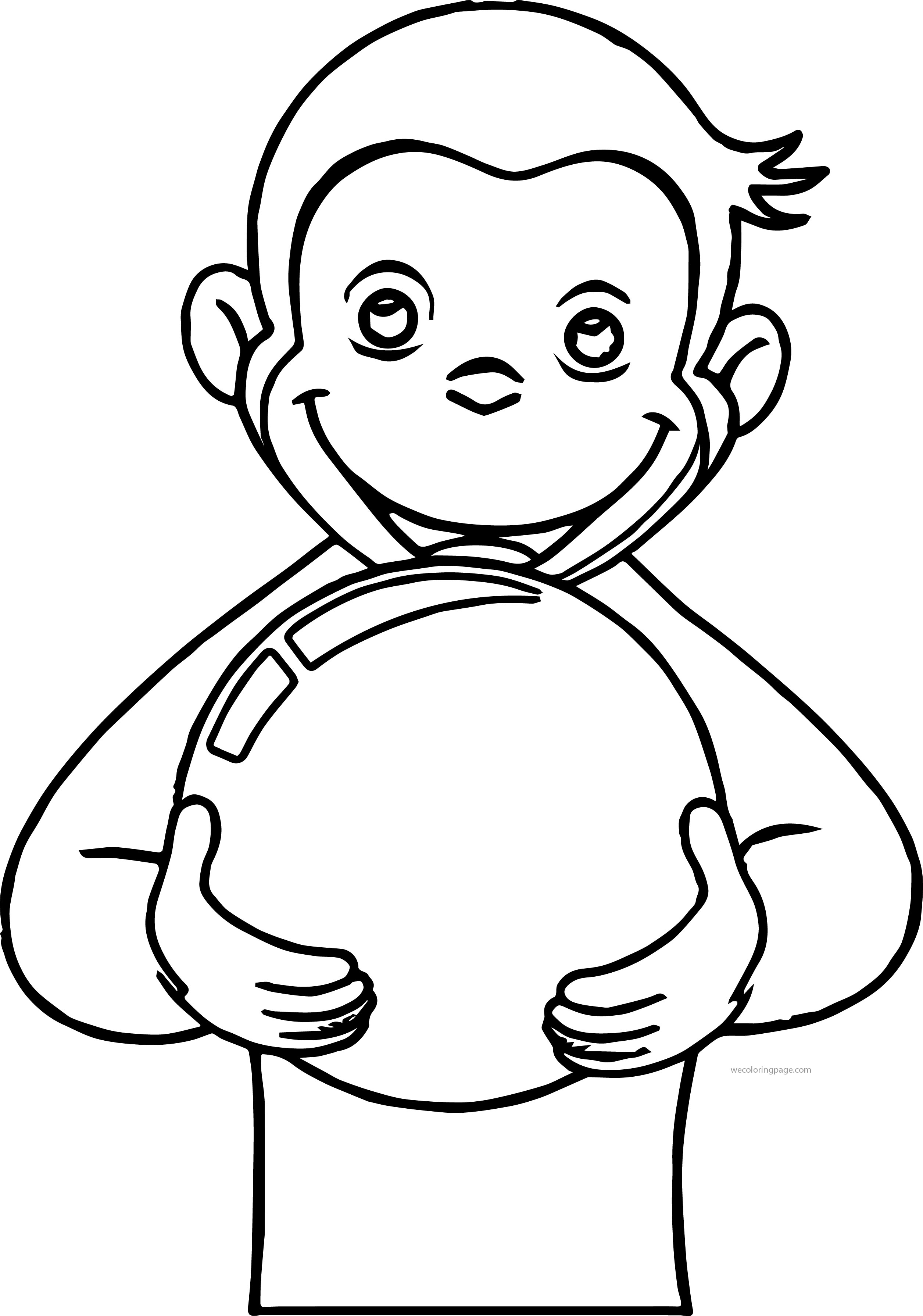george the monkey coloring pages curious george curious george coloring pages monkey coloring monkey the pages george