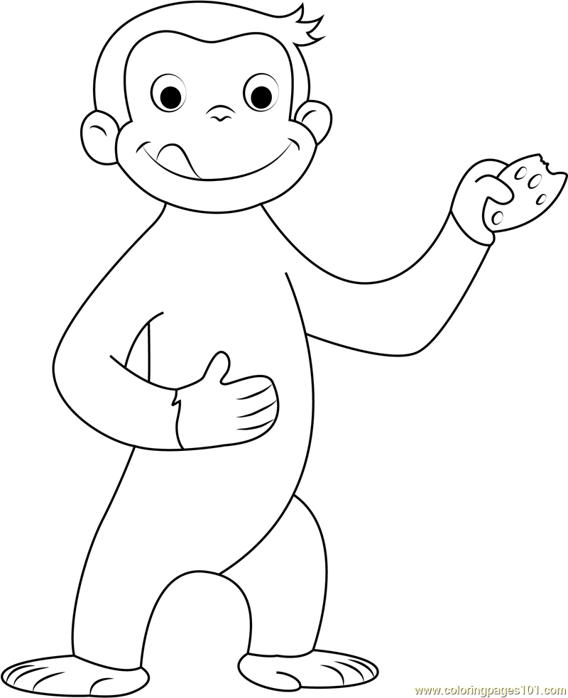 george the monkey coloring pages curious george halloween printable curious george george monkey pages the coloring