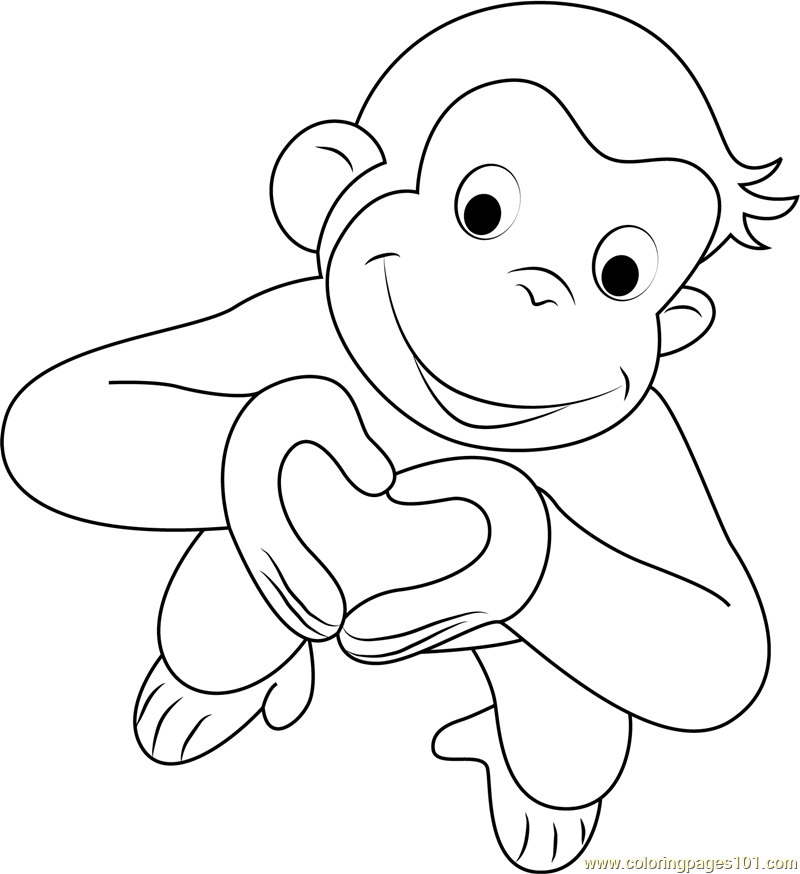 george the monkey coloring pages the curious george monkey coloring pages george the monkey coloring pages