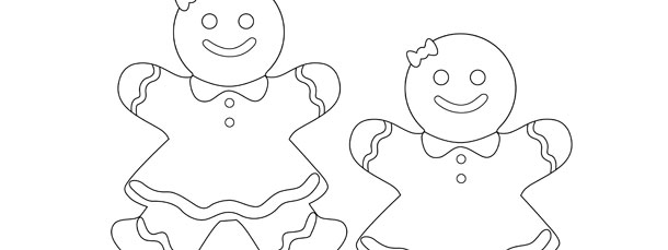 gingerbread girl template crafts christmas angels coloring pages coloringsnet gingerbread template girl