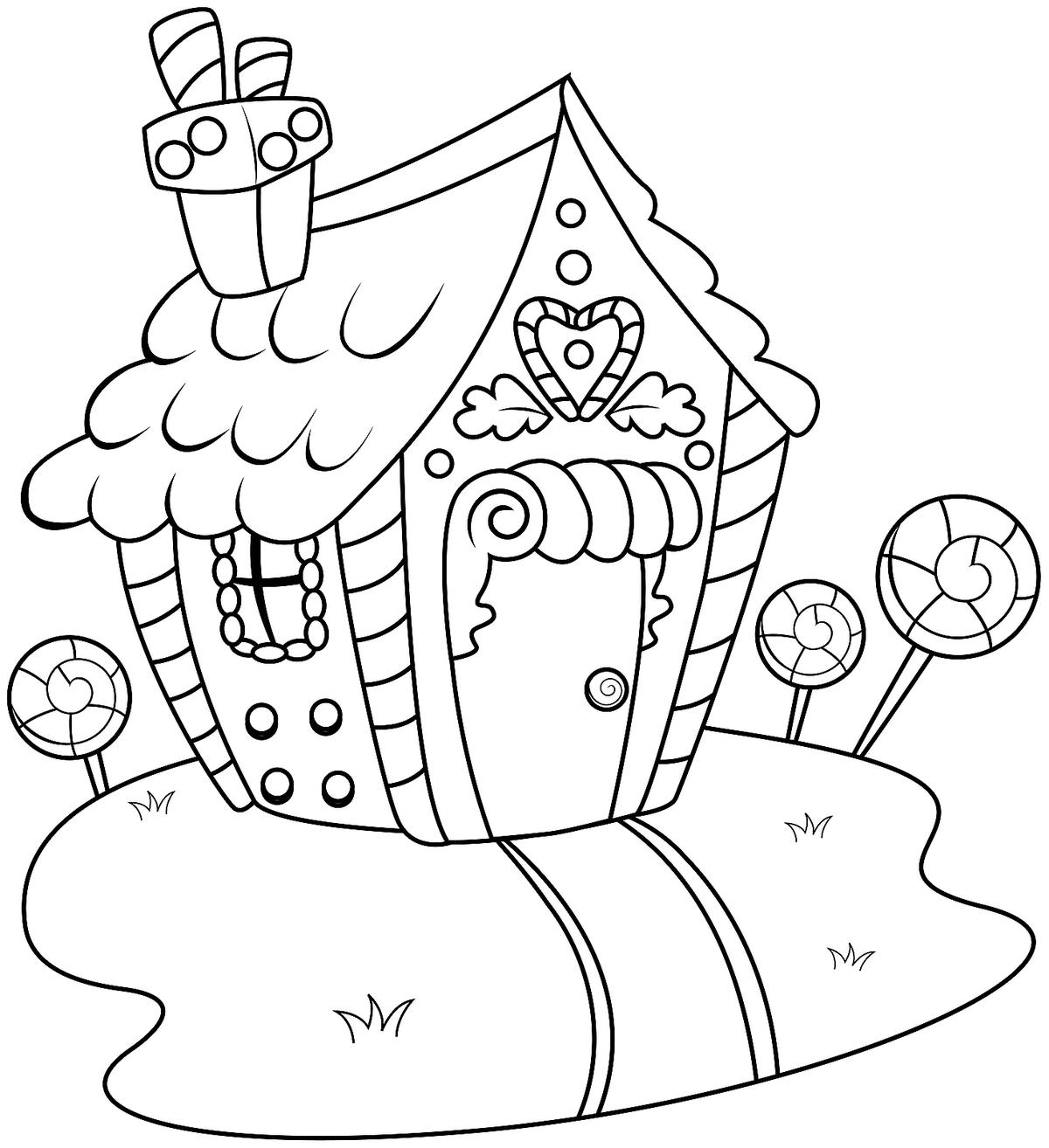 gingerbread house colouring pages 30 free gingerbread house coloring pages printable colouring pages house gingerbread