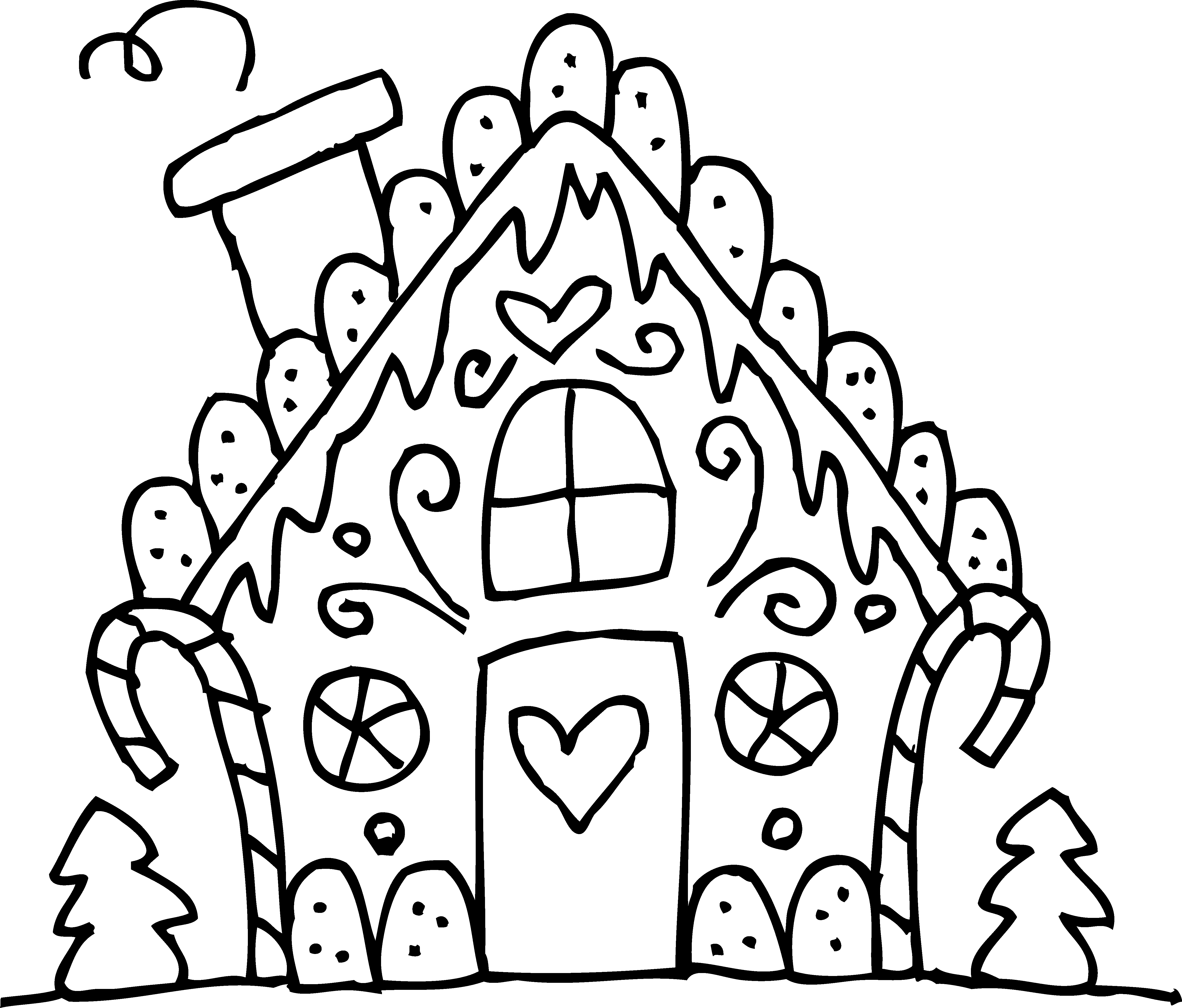 gingerbread house colouring pages printable gingerbread house coloring pages coloring home pages colouring house gingerbread