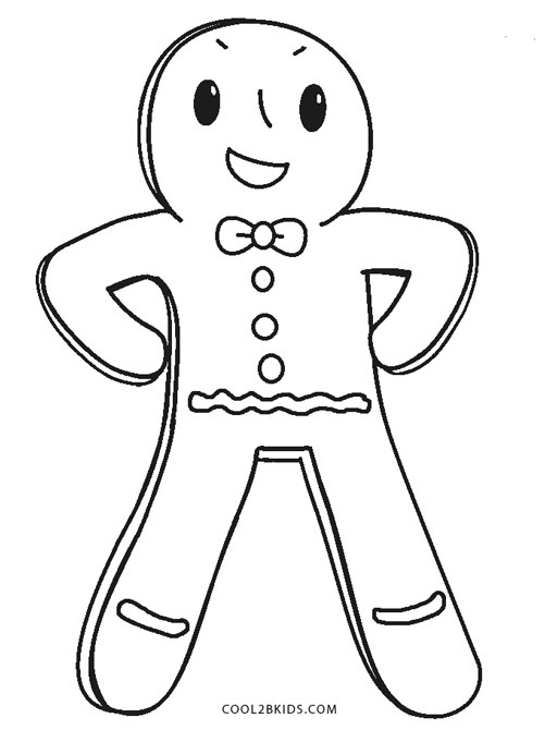 gingerbread man coloring pictures gingerbread man template clipart coloring page for kids gingerbread pictures man coloring