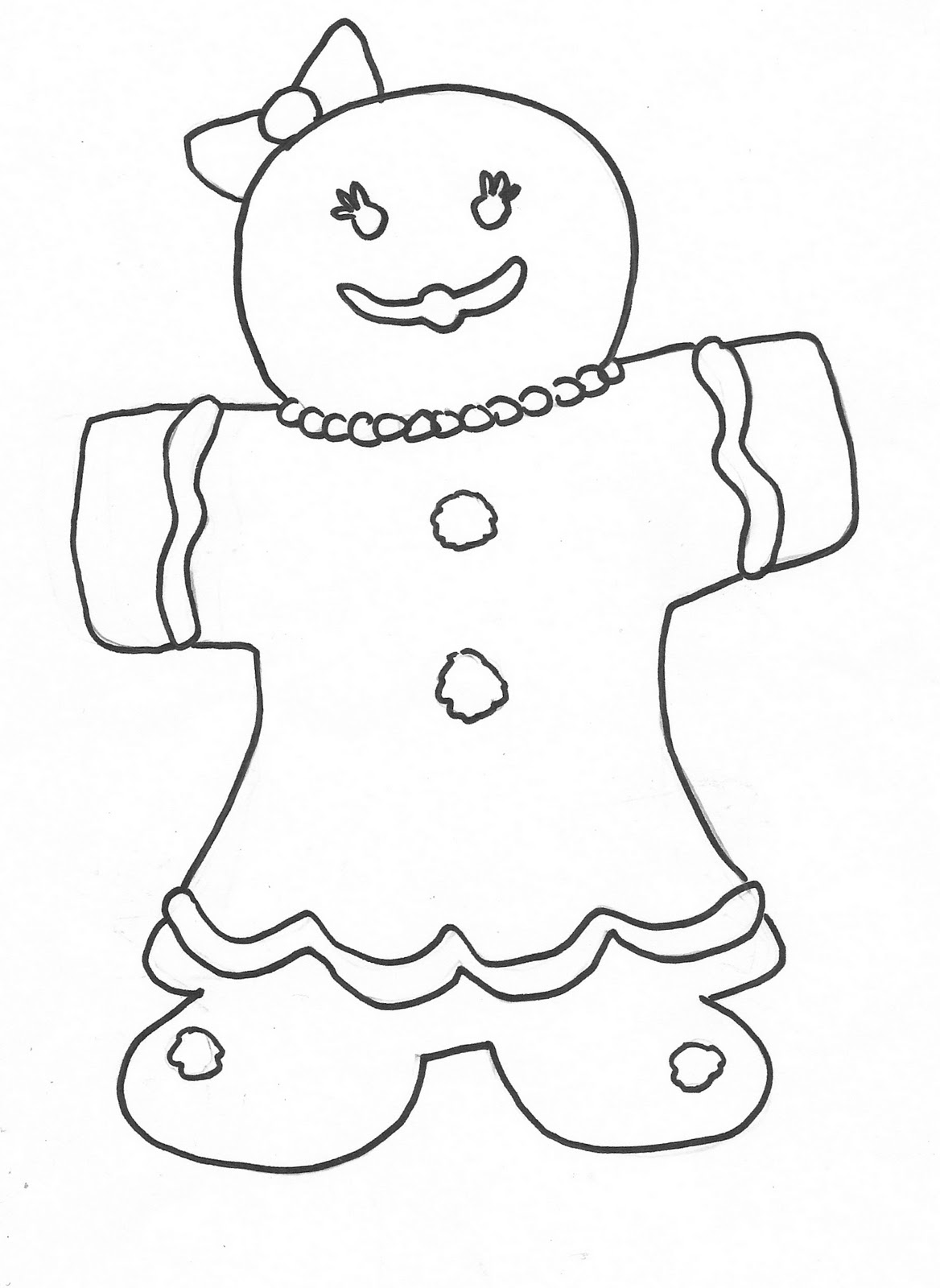 gingerbread man coloring pictures printable gingerbread man coloring pages at getcolorings man pictures gingerbread coloring