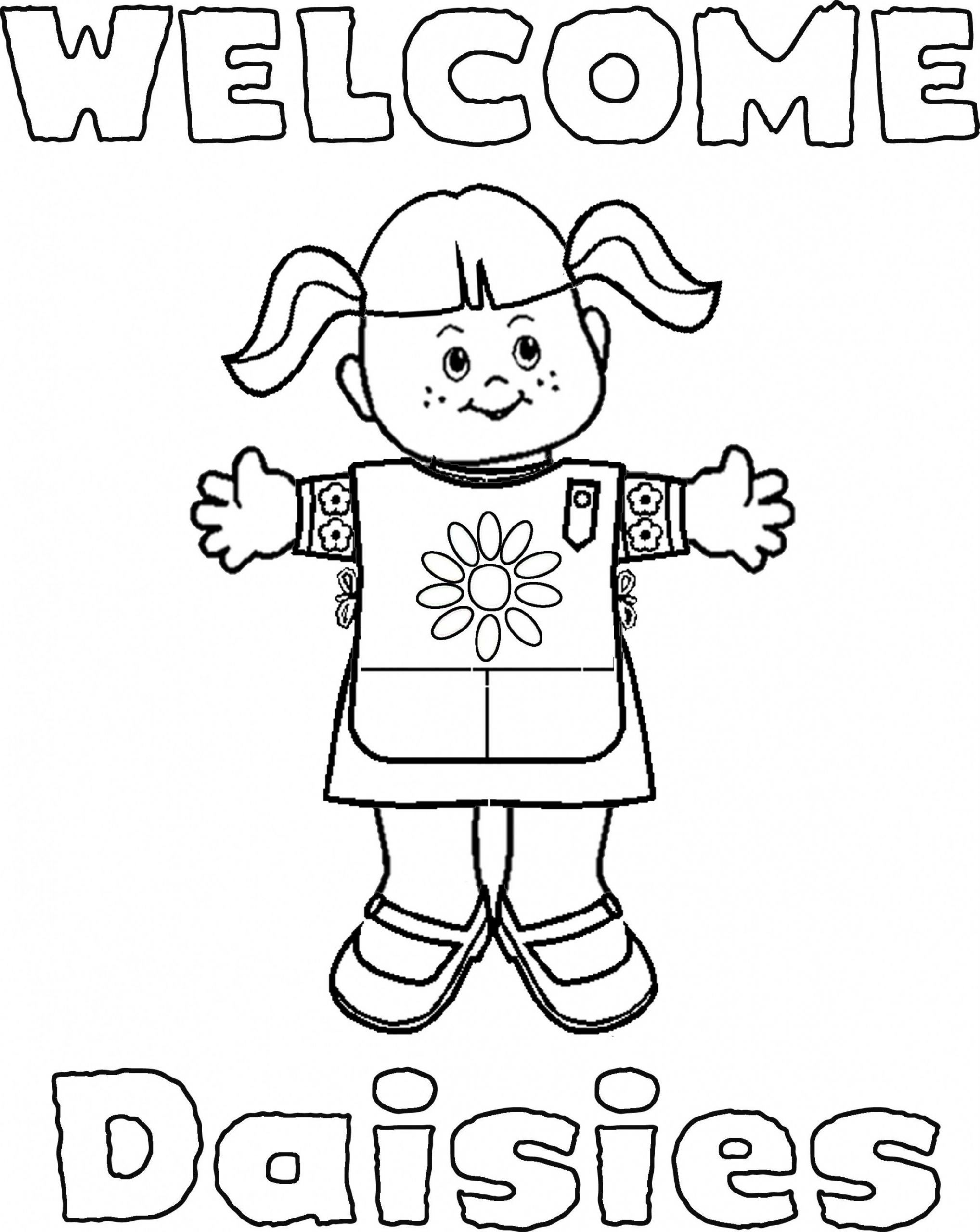 girl scout promise coloring page 25 of the best ideas for girls scout promise coloring promise page scout coloring girl